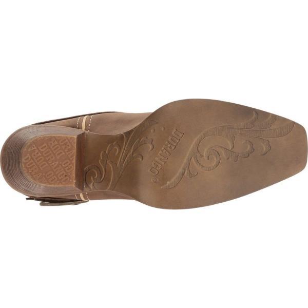 デュランゴ レディース ブーツ シューズ・靴 Crush 12 Flag Acessory Strap Brown/Khaki