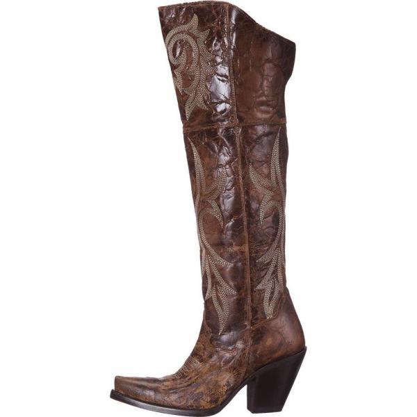 ダンポスト レディース ブーツ シューズ・靴 Jilted Brown