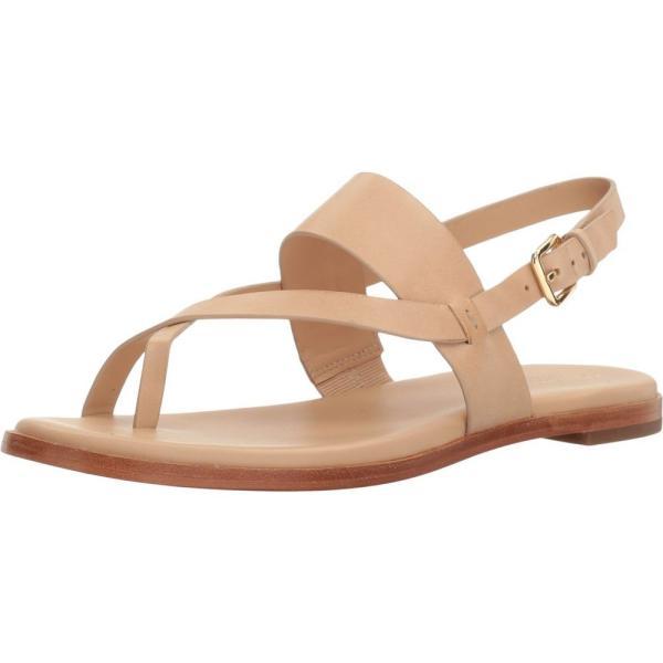 コールハーン レディース ビーチサンダル シューズ・靴 Anica Thong Sandal Nude