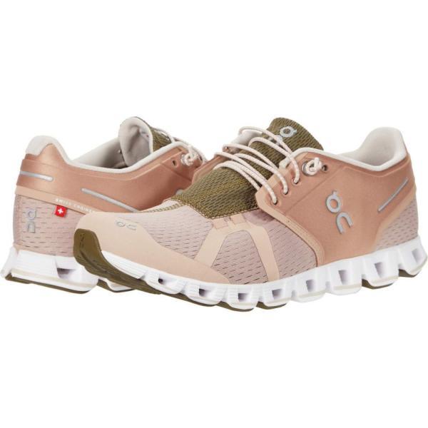 オン On レディース ランニング・ウォーキング シューズ・靴 Cloud 2.0 Rosebrown/Camo