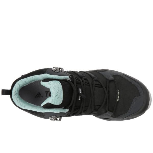 アディダス レディース スニーカー シューズ・靴 Terrex Swift R2 Mid GTX Black/Black/Ash Green