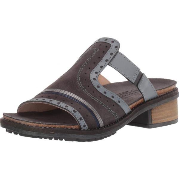 ナオト Naot レディース サンダル・ミュール シューズ・靴 Nifty Oily Midnight Suede/Vintage Ash Leather/Mirror Leather/Polar Sea