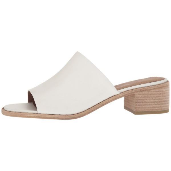 フライ レディース サンダル・ミュール シューズ・靴 Cindy Mule White