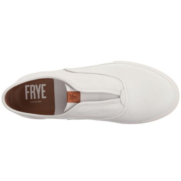 フライ レディース スリッポン・フラット シューズ・靴 Maya CVO Slip-On White