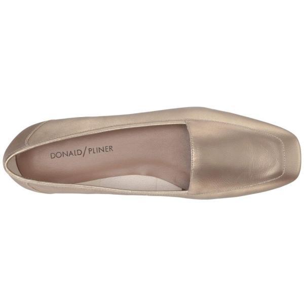 ドナルド ジェイ プリナー Donald J Pliner レディース ローファー・オックスフォード シューズ・靴 Deedee Bronze Matte Metallic (Foil)