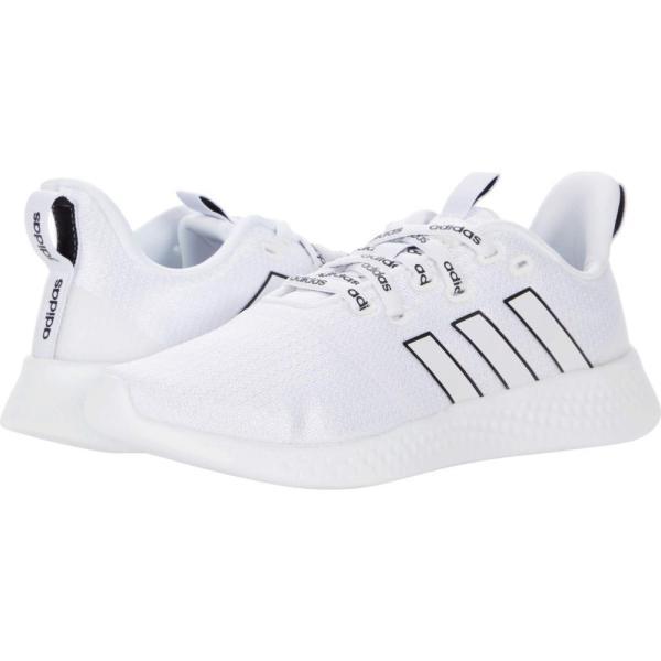 アディダス adidas Running レディース ランニング・ウォーキング シューズ・靴 Puremotion White/White/Black