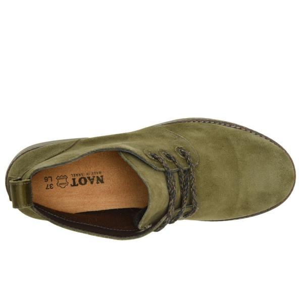 ナオト Naot レディース ブーツ シューズ・靴 Love Oily Olive Suede/Vintage Pine Leather
