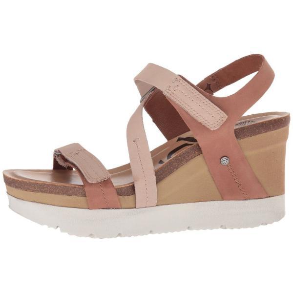 オーティービーティー レディース サンダル・ミュール シューズ・靴 Wavey Mid Brown