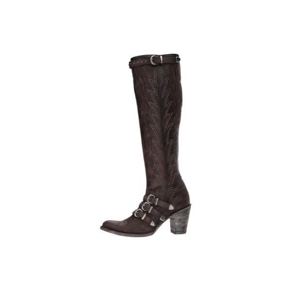 オールド グリンゴ レディース ブーツ シューズ・靴 Roxy High Chocolate