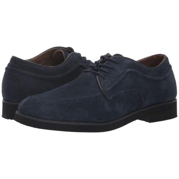 ハッシュパピー Hush Puppies メンズ 革靴・ビジネスシューズ シューズ・靴 Bracco MT Oxford Navy Suede|fermart-shoes