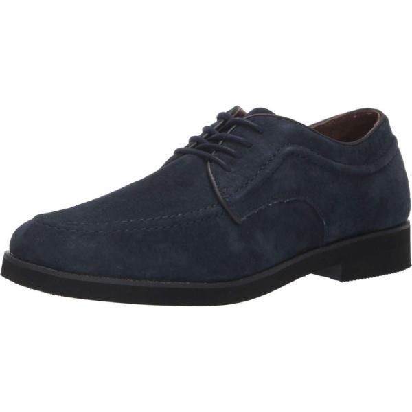 ハッシュパピー Hush Puppies メンズ 革靴・ビジネスシューズ シューズ・靴 Bracco MT Oxford Navy Suede|fermart-shoes|02
