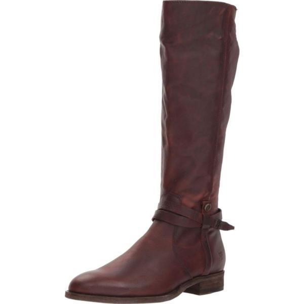 フライ Frye レディース ブーツ シューズ・靴 Melissa Belted Tall Redwood Washed Oiled Vintage