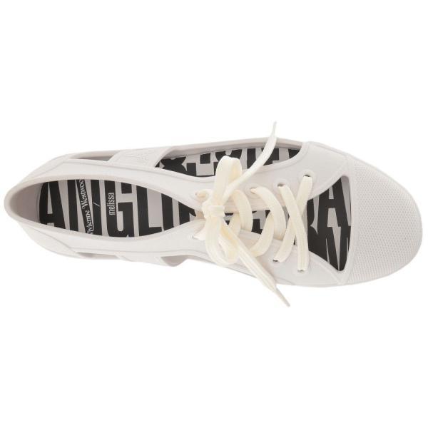 メリッサ Melissa Luxury Shoes レディース スニーカー シューズ・靴 Vivienne Westwood + Brighton Sneak White