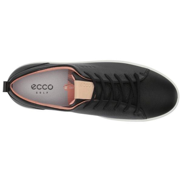 エコー ECCO Golf レディース スニーカー シューズ・靴 Soft Low Hydromax Black