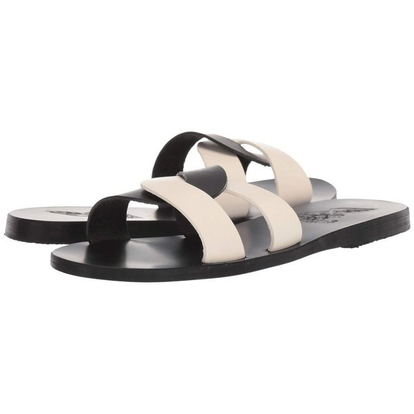 エンシェント グリーク サンダルズ Ancient Greek Sandals レディース サンダル・ミュール シューズ・靴 Desmos Black/Off-White