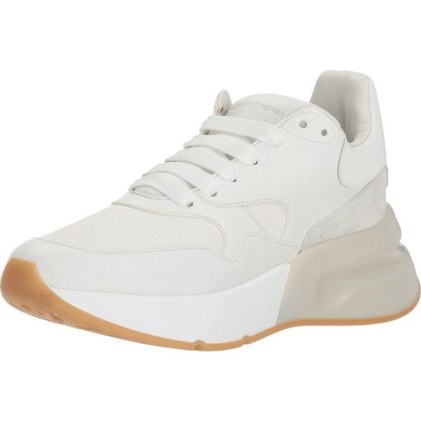 アレキサンダー マックイーン Alexander McQueen レディース スニーカー シューズ・靴 Oversized Runner Sneaker White/Cream