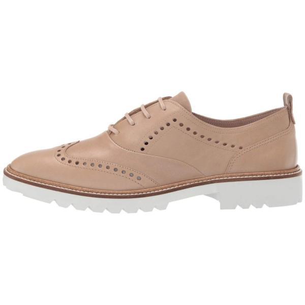 エコー ECCO レディース ローファー・オックスフォード シューズ・靴 Incise Tailored Wing Tip Dune Calf Leather
