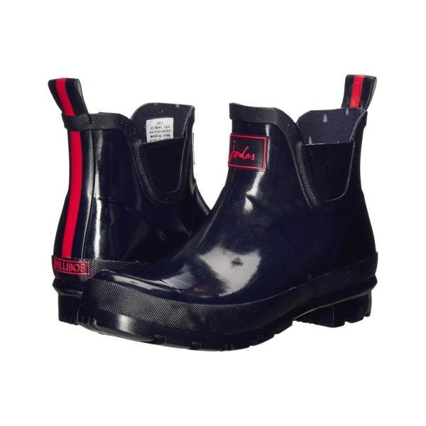 ジュールズ Joules レディース レインシューズ・長靴 シューズ・靴 Glossy French Navy