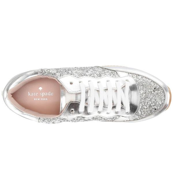 ケイト スペード Kate Spade New York レディース スニーカー シューズ・靴 Felicia Sneaker Silver Glitter