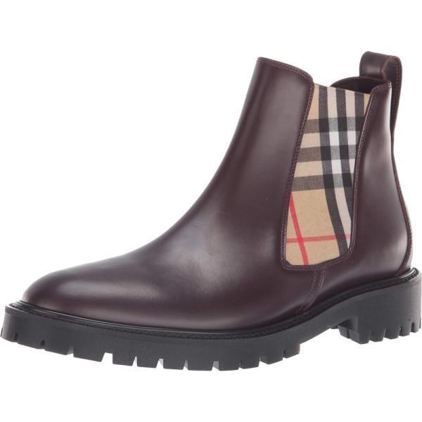 バーバリー Burberry レディース ブーツ シューズ・靴 Allostock Oxblood
