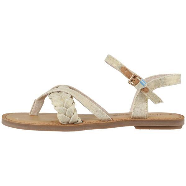 トムス TOMS レディース サンダル・ミュール シューズ・靴 Lexie Natural Shimmer Canvas