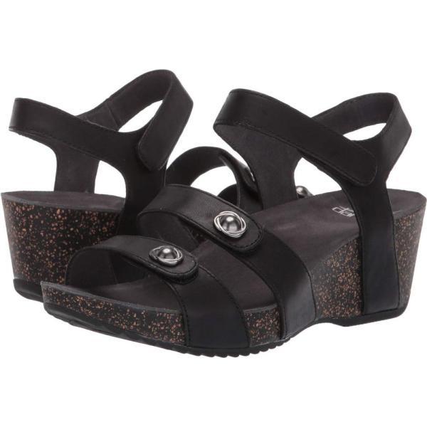 ダンスコ Dansko レディース ヒール シューズ・靴 Savannah Black Waxy Burnished