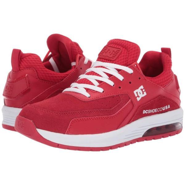 ディーシー DC レディース スニーカー シューズ・靴 Vandium SE Red