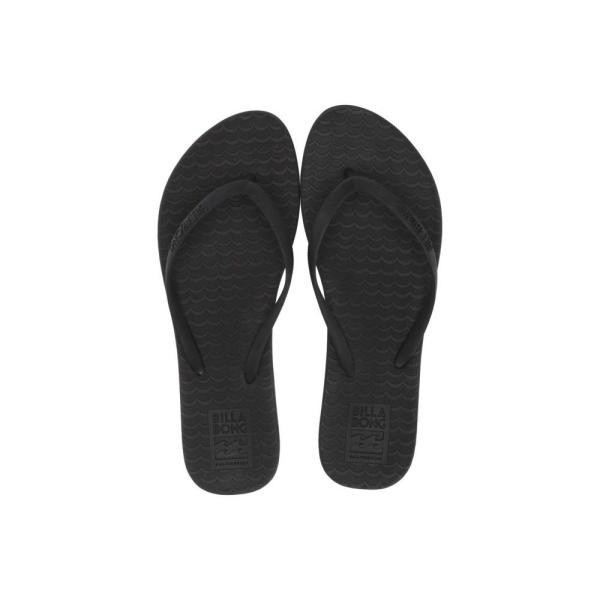 ビラボン Billabong レディース ビーチサンダル シューズ・靴 Good Waves Off-Black