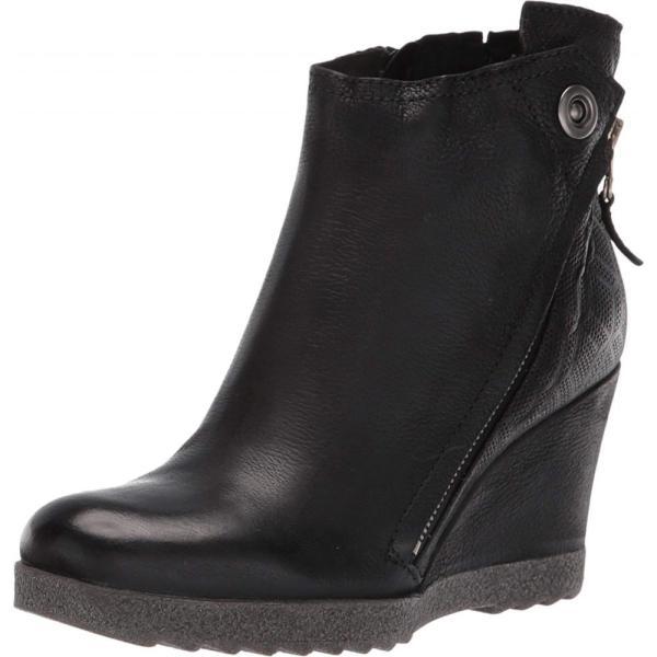 ミズムーズ Miz Mooz レディース ブーツ シューズ・靴 Newton Black