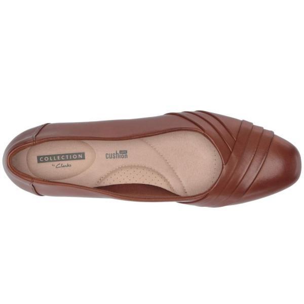 クラークス Clarks レディース スリッポン・フラット シューズ・靴 Juliet Petra Tan Leather