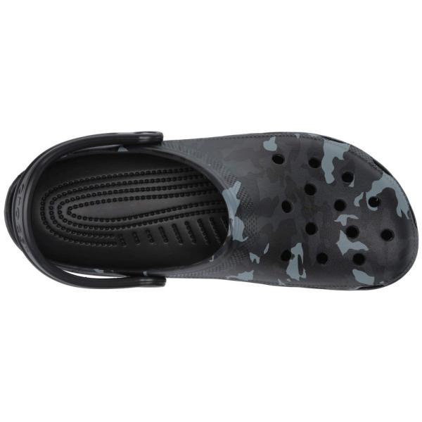 クロックス Crocs レディース クロッグ シューズ・靴 Classic Seasonal Graphic Clog Black/Grey