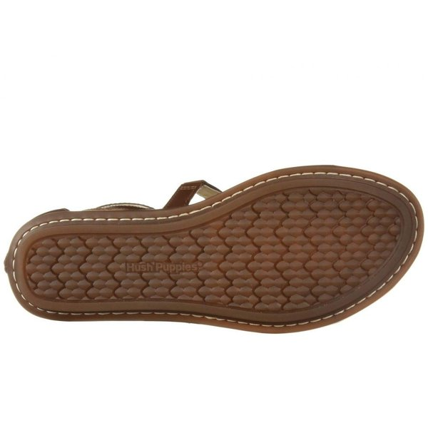 ハッシュパピー Hush Puppies レディース スリッポン・フラット シューズ・靴 Olive Gladiator Dachshund Leather