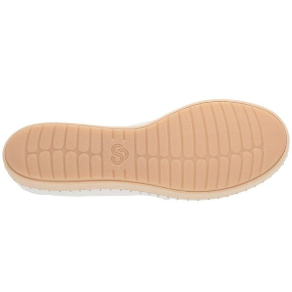 クラークス Clarks レディース スニーカー シューズ・靴 Step Glow Lace White Textile