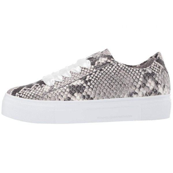 ケンネル&シュメンガー Kennel & Schmenger レディース スニーカー シューズ・靴 Big Satin Lace Snake Sneaker Grey/White Snake Print