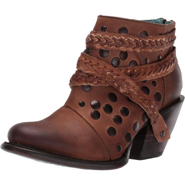 コラル Corral Boots レディース ブーツ シューズ・靴 Z0060 Chocolate