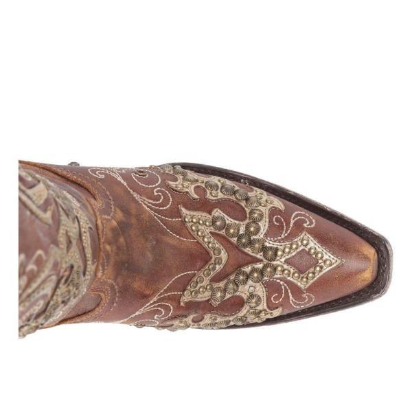 コラル Corral Boots レディース ブーツ シューズ・靴 A3638 Brown