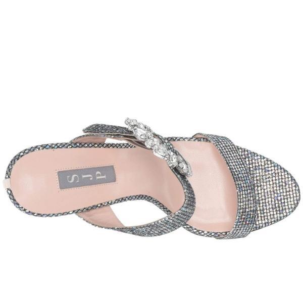 エスジェーピーバイサラジェシカパーカー SJP by Sarah Jessica Parker レディース ヒール シューズ・靴 Celia Silver Scintillate