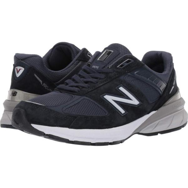 ニューバランス New Balance レディース ランニング・ウォーキング シューズ・靴 Made in US 990v5 Navy/Silver