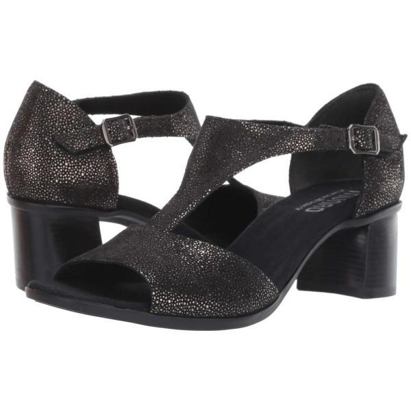 マンロー Munro レディース サンダル・ミュール シューズ・靴 Violet Black Metallic Print