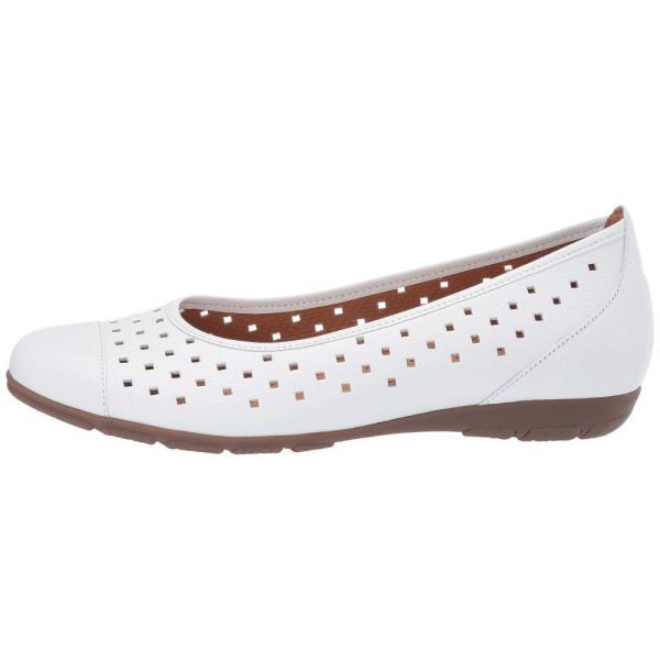 ガボール Gabor レディース スリッポン・フラット シューズ・靴 21.169 White