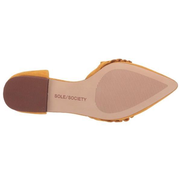 ソール ソサエティー SOLE / SOCIETY レディース スリッポン・フラット シューズ・靴 Rosalind Rusted Gold Kid Suede