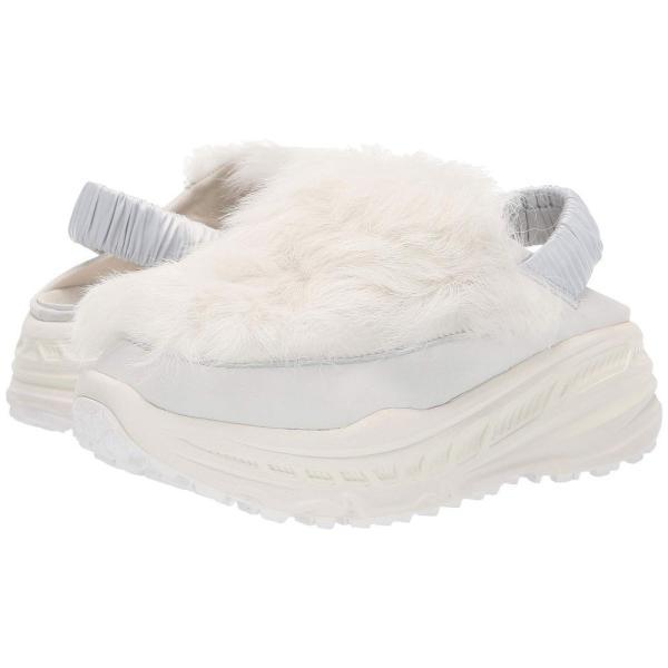 アグ UGG レディース スニーカー シューズ・靴 Fluffy Runner White