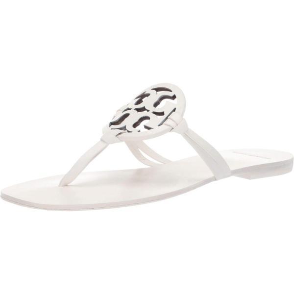 トリー バーチ Tory Burch レディース サンダル・ミュール シューズ・靴 Miller Square Toe White