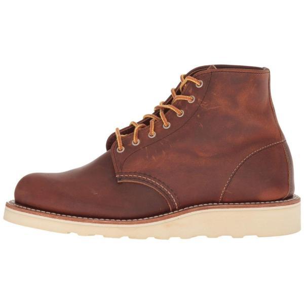 レッドウィング Red Wing Heritage レディース ブーツ シューズ・靴 6' Round Toe Copper Rough & Tough