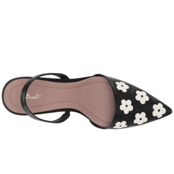 ダイアン フォン ファステンバーグ Diane von Furstenberg レディース ヒール シューズ・靴 Mortelle-5 Black/Ivory Matte Barcelona