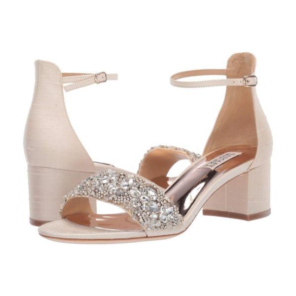 バッジェリー ミシュカ Badgley Mischka レディース サンダル・ミュール シューズ・靴 Liz Ivory Indian Silk