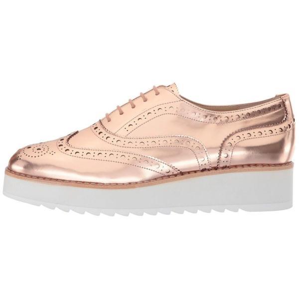ボトキエ Botkier レディース ローファー・オックスフォード シューズ・靴 Clive Metallic Rose