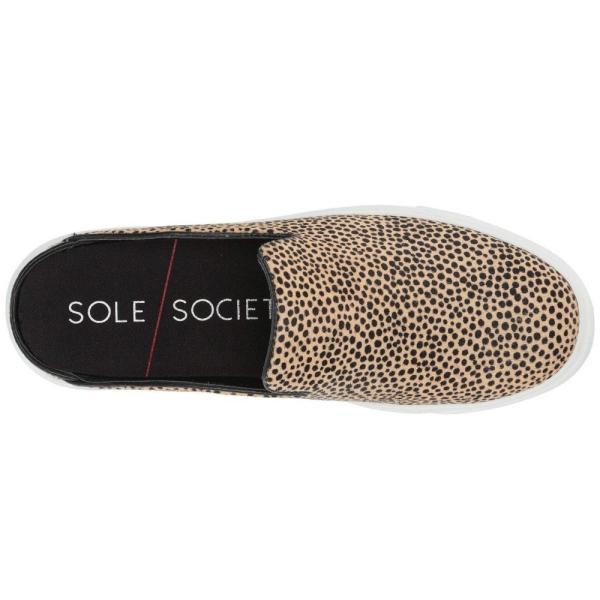 ソール ソサエティー SOLE / SOCIETY レディース スニーカー シューズ・靴 Belynda 4 Dotted Haircalf