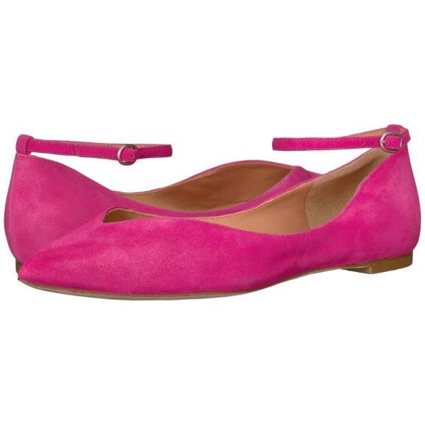 シガーソン モリソン Sigerson Morrison レディース スリッポン・フラット シューズ・靴 Suzie Flat Light Pink Suede