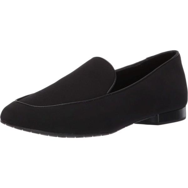 ドナルド ジェイ プリナー Donald J Pliner レディース ローファー・オックスフォード シューズ・靴 Heddy Black Crepe Elastic